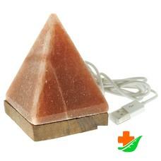 Соляная лампа WONDER LIFE Пирамида питание от USB порта