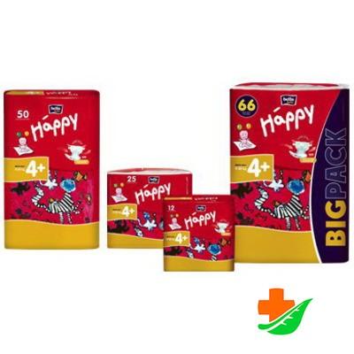 Подгузники HAPPY Maxi Plus 9-20 кг 1 шт в Барнауле