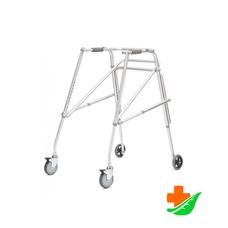 Ходунки ARMED FS-9123 L алюминиевые с колесами до 100 кг