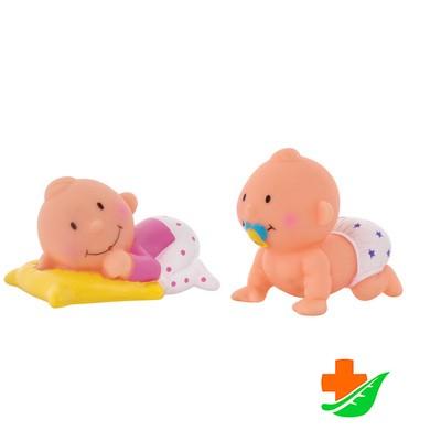 Игрушки-брызгалки КУРНОСИКИ Набор для ванны «Баю-Бай», 25130, 6+ в Барнауле