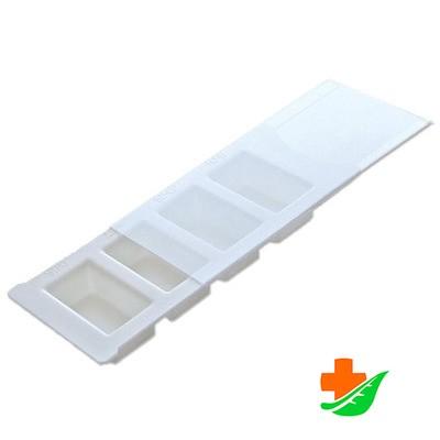 Таблетница (пенал) для хранения и напоминания о приёме лекарств с поддоном в Барнауле
