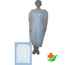 Халат-накидка хирургическая для посетителей (отпуск по 5 шт)