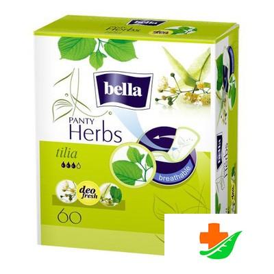 Прокладки ежедневные BELLA Herbs Panty tilia с экстрактом липового цвета 50+10 шт
