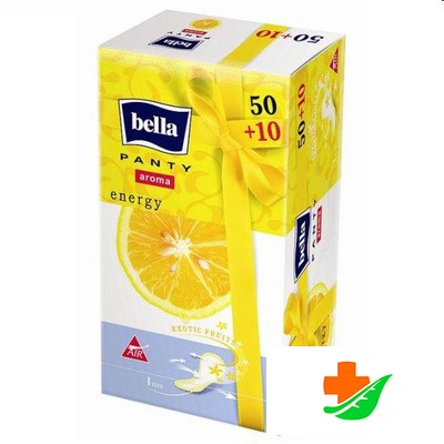 Прокладки ежедневные BELLA Panty Aroma Energy 50+10шт