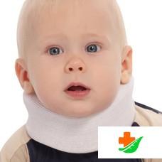 Бандаж на шейный отдел позвоночника ТРИВЕС для новорожденных Т.51.01 (ТВ-000) 3,5см