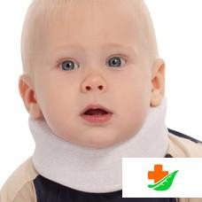 Бандаж на шейный отдел позвоночника ТРИВЕС для новорожденных Т.51.01 (ТВ-001) 5см