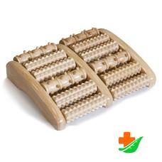 Массажер для ног ТРИВЕС М-405 деревянный