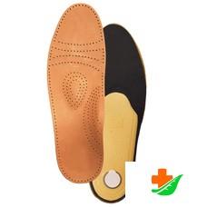 Стельки ортопедические ТРИВЕС СТ-105 для закрытой обуви, полужесткие, кожа