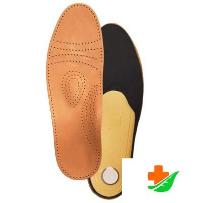 Стельки ортопедические ТРИВЕС СТ-105 для закрытой обуви, полужесткие, кожа в Барнауле