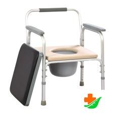 Кресло-туалет МЕГА-ОПТИМ FS 895 L для инвалидов до 100кг