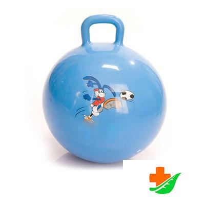 Мяч ТРИВЕС М-360 для занятий ЛФК Гимнастический с ручкой, диаметр 60 см в Барнауле