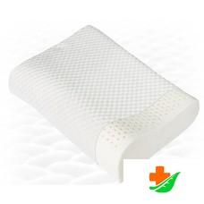 Подушка ортопедическая ТРИВЕС ТОП-202 из натурального латекса под голову