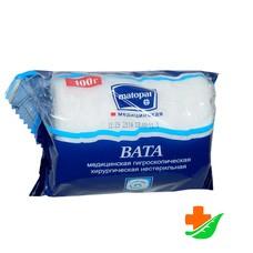 Вата BELLA Cotton в рулоне хлопок 100 гр