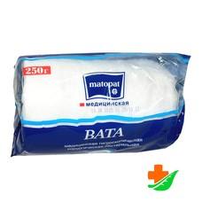 Вата BELLA Cotton в рулоне хлопок 250 гр