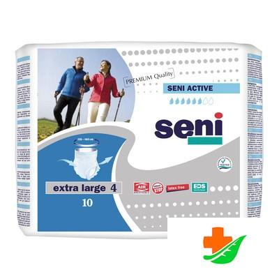 Трусы для взрослых SENI Active впитывающие Extra Large 4 (XL) 10 шт в Барнауле