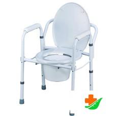 Кресло-туалет для инвалидов  Nova TN-402 складное до 150кг