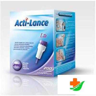Ланцеты ACTI-LANCE Lite (Игла 28 G) 1,5 мм №200