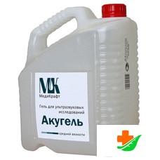 Гель для УЗИ МЕДИКРАФТ Акугель средней вязкости, 5 кг