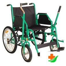 Кресло-коляска МЕГА-ОПТИМ 514 AC-46 инвалидная механическая