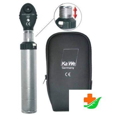 Офтальмоскоп KAWE (01.21366.001) Eurolight E36 Американский вариант с ксенон-галогенной лампой 2,5В