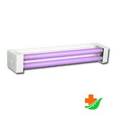 Облучатель бактерицидный ОБНП 2*15-01 (со шнуром) настенно-потолочный с лампами