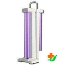 Облучатель бактерицидный переносной (со шнуром)  ОБНП 2(2х15-01) 4 лампы F15 в комплекте