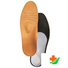 Стельки ортопедические ТРИВЕС СТ-104 для закрытой обуви, кожа, мужские/женские