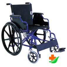 Кресло-коляска CA931B с откидными подлокотниками и съемными подножками, складная до 150 кг