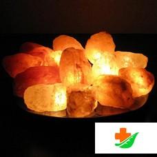 Соляная лампа WONDER LIFE Огненная Фантазия 20 камней