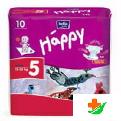 Подгузники HAPPY Junior 12-25кг 10 шт