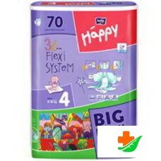 Подгузники HAPPY Maxi 8-18 кг 70/72 шт