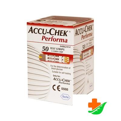 Тест-полоски ACCU-CHEK PERFORMA 50 шт