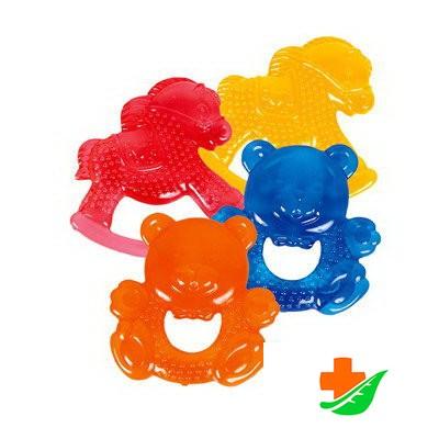 Прорезыватель КУРНОСИКИ любимые игрушки с водой 23007, 4+ в Барнауле
