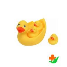 Игрушка для ванны КУРНОСИКИ «Уточка с утятами» 25072, 6+