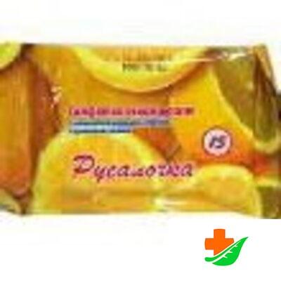 Салфетки влажные РУСАЛОЧКА освежающие с ароматом Лимона 15шт