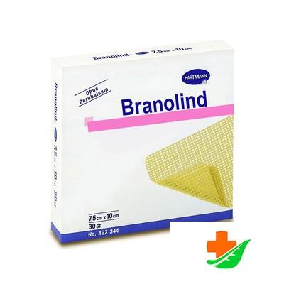 Повязка BRANOLIND стерильная ранозаживляющая 7,5*10 см в Барнауле