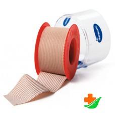 Пластырь HARTMANN Omniplast текстиль, телесный