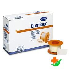 Пластырь HARTMANN Omnipor гипоаллергенный из нетканого материала, белый