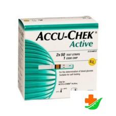 Тест-полоски ACCU-CHEK Aktive Глюкоза 100 шт