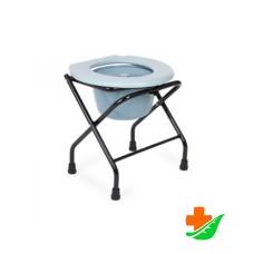 Кресло-туалет ARMED FS897A складная рама, съемная емкость до 90кг