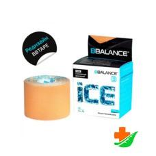 Кинезио тейп BBalance Ice Max бежевый 5см*5м
