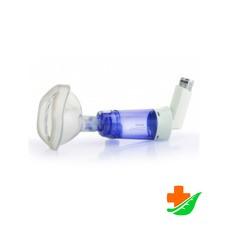Спейсер PHILIPS Respironics OptiChamber Diamond маской малого размера для детей от 0 до 18 месяцев