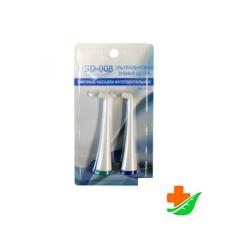 Комплект сменных насадок DONFEEL интердентальных для ультразвуковой зубной щетки HSD-008, 2шт