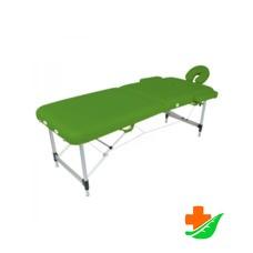 Массажный стол MED-MOS JFAL01A 2-х секционный складной фисташковый