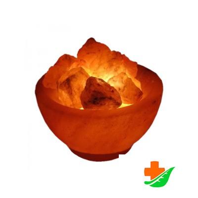 Соляная лампа WONDER LIFE Ваза с камнями с диммером 2кг в Барнауле