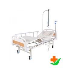 Кровать электрическая MED-MOS DB-7 (МЕ-2018Н-00) с полкой и накроватным столиком