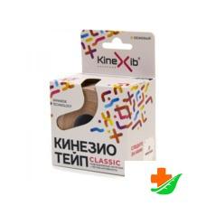 Бинт KINEXIB Кинезио-тейп Classic бежевый 5смх5м