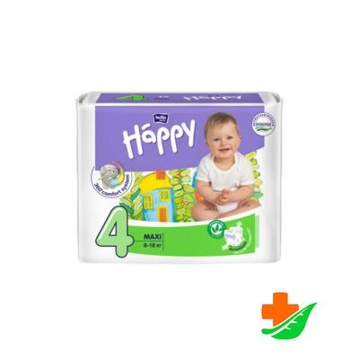 Подгузники BELLA Happy 4 Maxi 8-18кг, 8шт в Барнауле