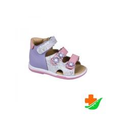 Сандалеты ортопедические TWIKI TW-138 с открытым носком сиренево-розовый