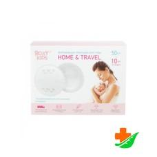 Прокладки для груди ROXY-KIDS Home&Travel впитывающие лактационные 60шт